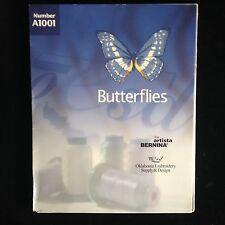 OESD Butterflies Embroidery Designs Card for Bernina Artista 165 170 180 200