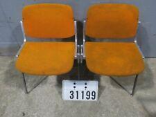 2 Castelli Alu Chair Stuhl Retro Vintage Loft Industrie Mid-Century #31199
