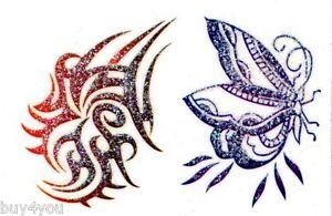 Body Jewelry Tattoo Sticker Glitter Self Adhesive Bodyart Body Jewels