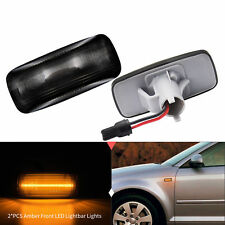 Schwarz Smoke LED Seitenblinker Blinker Audi A2 A3 8L A4 B5 A6 C5 A8 TT 8N (802