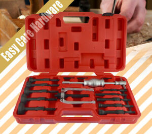16 PCS Inner Bearing Puller Races Blind Hole Gear Bushes Extractor Remover Kit