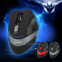 6D Bluetooth 800/2400 DPI 2.4GHz LED Wireless Optical Gaming Mouse For Laptop PC