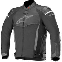 Alpinestars SP X Leather Sports CE Approved Motorcycle Motorbike Jacket - Black