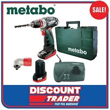 Metabo 10.8V Lithium-Ion Cordless Drill / Screwdriver Kit PowerMaxx BS Quick Pro