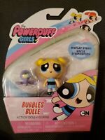 The Powerpuff Girls Bubbles Action Doll Figure Spin Master Cartoon Network