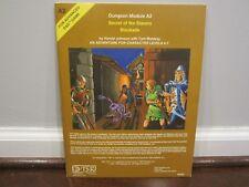 Advanced D&D  Dungeon Module A2 (# 9040)   SECRET OF THE SLAVERS STOCKADE