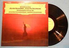 HERBERT VON KARAJAN BERLIN PHIL DVORAK NEW WORLD SYMPH Nr. 9 LP ITALY NM/VG++!!B