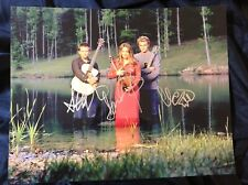 Nickel Creek Group Autographed Signed 11x14 Photo w/COA