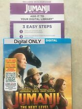 Jumanji 3 The Next Level Digital From Blu-ray ***READ*** CANADA