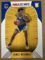 2020-21 Panini NBA Hoops JAMES WISEMAN #205 First Rookie Card Warriors RC 🔥🔥