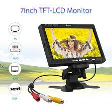 "EYOYO S720 1024*600 7"" Screen 1080P Camera PC DVD Video LCD Monitor VGA AV HDMI"