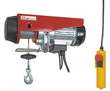 Paranco  elettrico Ribitech PE125/250 250 Kg 18 mt 540 W