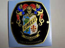 1 sticker head badge for racing bikes CINELLI - 50x43mm vintage