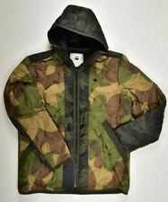 G-STAR RAW, Edla Padded RC Hooded Overshirt L/S Gr. XL Camouflage Jacke