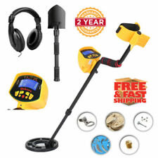 Md3010Ii Metal Detector Underground Search Coil Portable Lcd Auto Digger Hunter