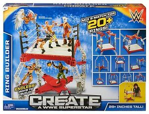 WWe Create A WWe Superstar Ring Builder CMB52 NEW