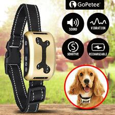 Adjustable Anti Bark Collar Stop Dog Barking Humane Training w/Sound & Vibration