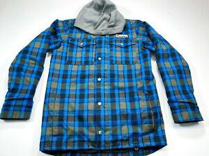 Burton Boys Dryride XL Blue Snowboard Ski Winter Coat Jacket