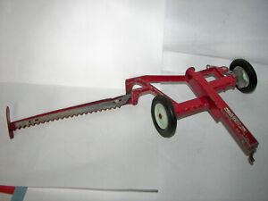 Vtg. ERTL McCormick International IH Sickle Bar Mower Hay/Grass Toy Implement