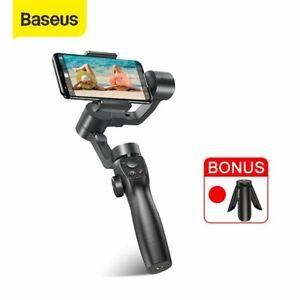 Baseus 3-Achsen Gimbal Stabilisator für iPhone Handy Smartphones Vlog Shooting