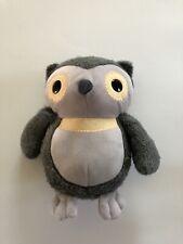 "Kohls Cares for Kids Gray Owl Soft Plush Aesop's Fables Hooty Owl 10"" Fuzzy"
