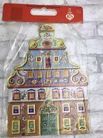 NEW Vintage Christmas Advent Calendar by RS Stuttgart-Rohr #62 European Folk Art