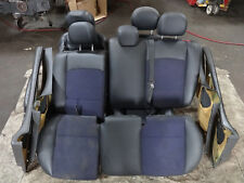 Ford Focus ST170 Mk2 Mk1 97-05 FULL interior seats half leather blue 3 Door CARD