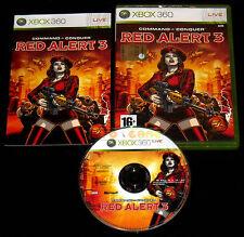 COMMAND & CONQUER RED ALERT 3 XBOX 360 Vers Italiana 1ª Edizione ••••• COMPLETO
