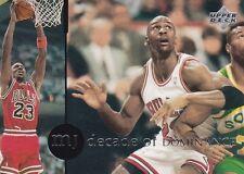 CHICAGO BULLS MICHAEL JORDAN 1994 UPPER DECK RARE AIR #76 DECADE OF DOMINANCE