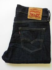 LEVI'S 541 JEANS STRETCH ATHLETIC TAPERED FIT W30 L30 DARK BLUE LEVR166