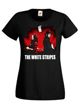 The White Stripes - Get Behind Me Satan, album cover T-SHIRT (BLACK) XS-2XL