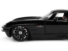 "1963 Chevy Corvette Stingray ""CUSTOM"" 1:24 Scale Diecast Model"