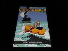 Eddy Paape / J.M. Charlier : Marc Dacier : Au-delà du Pacifique Ed Deligne
