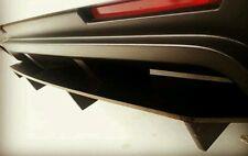 REAR SPLITTER + 4 CANARDS for 2013-2014 Mustang GT, V6