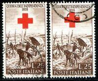 Repubblica Italiana 1959 Guerra d'Indipendenza n. 867c - usato varietà (l095)