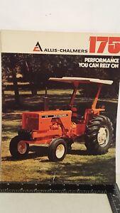 Allis Chalmers 175 Brochure