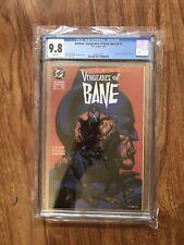 Batman: Vengeance of Bane Special #1 CGC 9.8 DC 1993 1st Bane! M6 382 clean