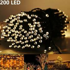 22m 200LED Solar String Fairy Lights Outdoor Party Xmas Tree Waterproof AU