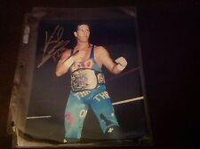 Nwo Wolfpack X PAC 123 Kidd Autographed 8x10  WWE WWF