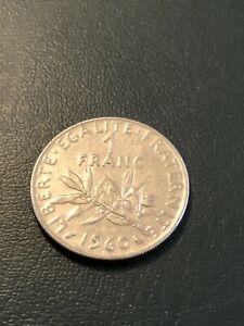 Coin - France 1 Franc  - 1960 #B74