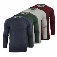 Mens Jumper Brave Soul Parsec Knitted Crew Neck Sweater