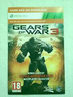 Gears of war 3 - Savage Grenadier Elite Multiplayer Character (DLC) [ULTRA RARE]