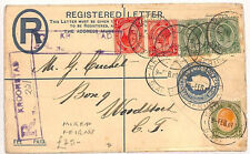 ZZ76 1911 Kroonstad South Africa Registered/Mixed reigns {samwells-covers}