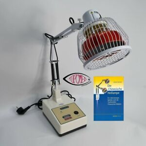 Infrarot Wärme-Therapielampe TOPOMED Mod. TDP-1100TM inkl. Buch - Deutschland