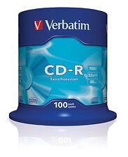 Verbatim CD-r extra Protection CD-r 700MB 100-Pack huso