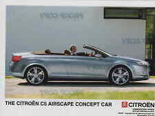 CITROEN C5 AIRSCAPE CONCEPT CAR ORIGINAL PRESS PHOTO   ** POST FREE UK**