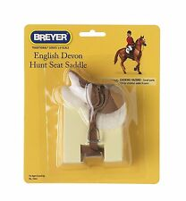 Breyer Traditional English Devon Hunt Saddle (for Toy Pony or Horse ) 1:9 Scale