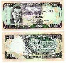 JAMAICA Jamaique Billet 100 Dollars 2010 P84 NOUVEAU NEUF UNC