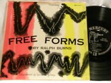 "RALPH BURNS Free Forms Lee Konitz Mercury 10"" dg LP"