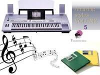 TYROS Floppy Disk set+AMAZING STYLES-Volume 5 NEW